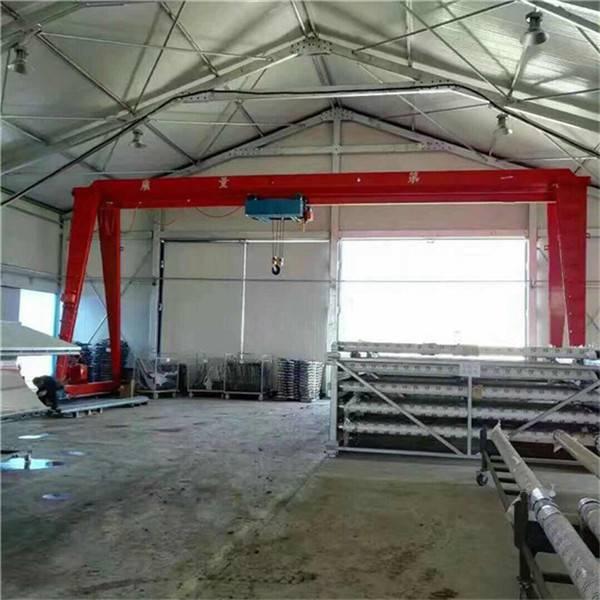 转让厂家现货 包厢龙门吊16t20t36t 二手室内双梁起重机