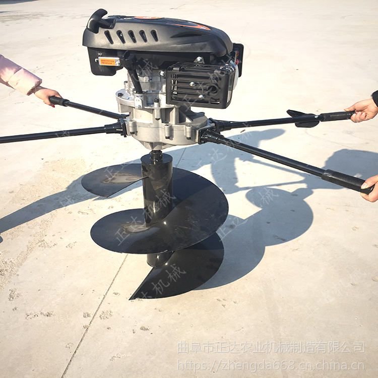 优质挖坑机批发 大棚打坑机 省油耐磨打眼机