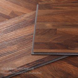 山东鑫诺石塑地板木纹锁扣BK8004