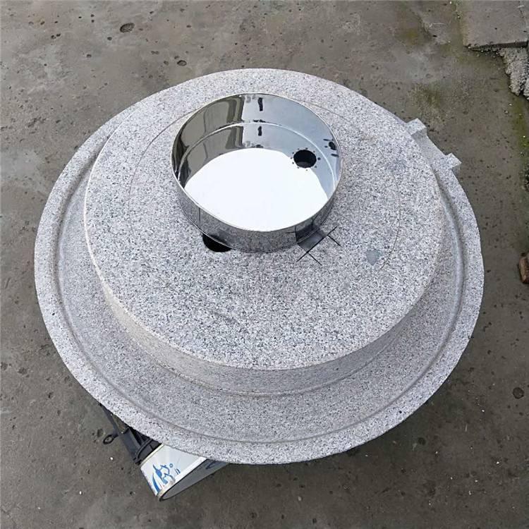 信达牌电动肠粉米粉石磨机 小磨坊大型香油芝麻酱石磨机