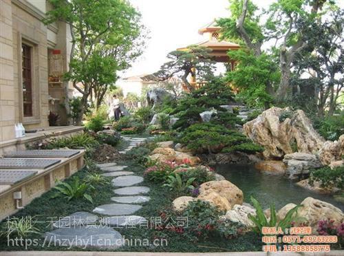 私家花园景观价格,宁波私家花园景观,一禾园林