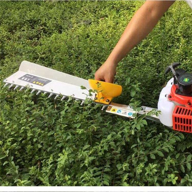 新型绿篱机 双刃手推绿篱机