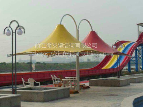 厂家承接各种膜结构工程露天场所膜结构游乐园设施安装