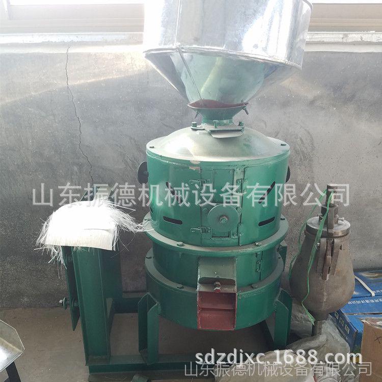 高粱小麦碾米设备 振德牌  五谷杂粮脱皮碾米机 家用小型碾米机