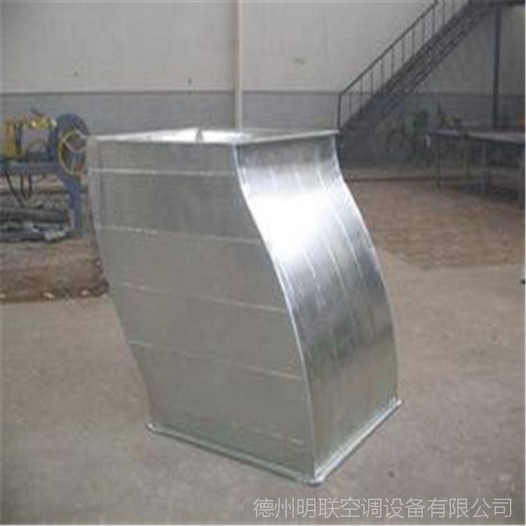 镀锌白铁皮风管 定制加工 镀锌板通风管道 镀锌螺旋风管 白铁风管