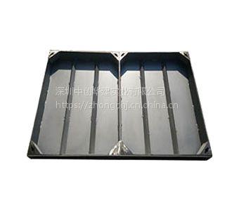 深圳中创华建厂家直销全套304不锈钢方形雨水污水装饰井盖