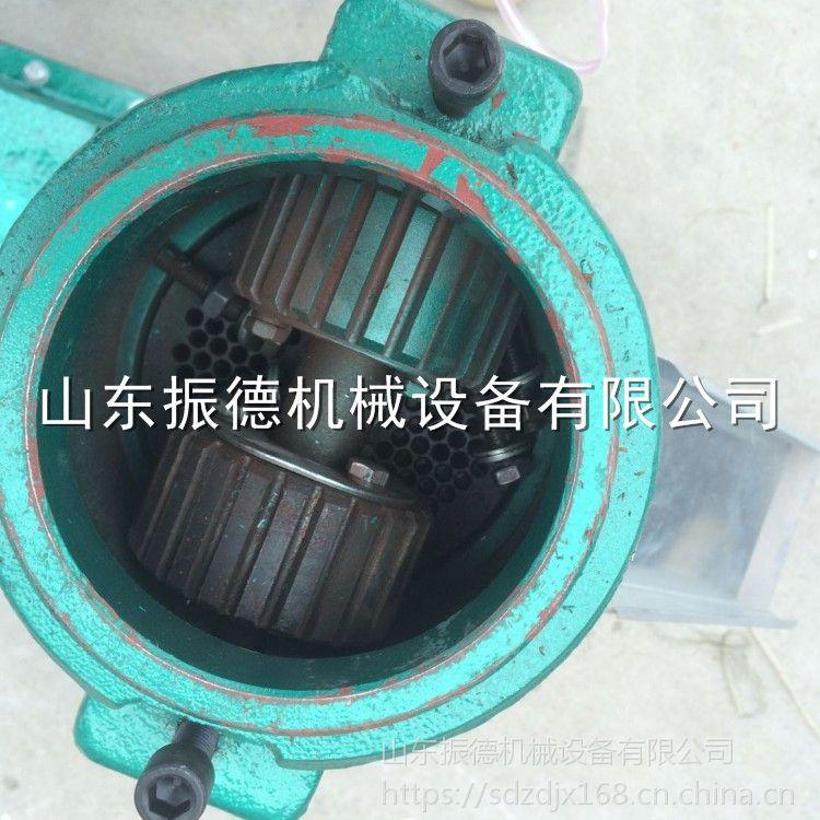 新款 轴式直连平模颗粒饲料机 电动制粒机 饲料颗粒机 振德热销