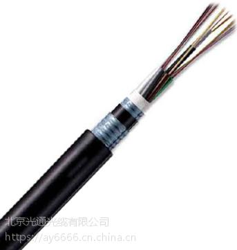 可矿用可直埋GYTA53光缆 双铠双护套室外层绞式光缆 厂家直销