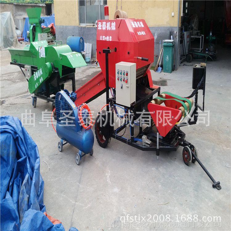 沈阳市玉米秸秆打捆包膜机 打捆机包膜机 打捆包膜机价格
