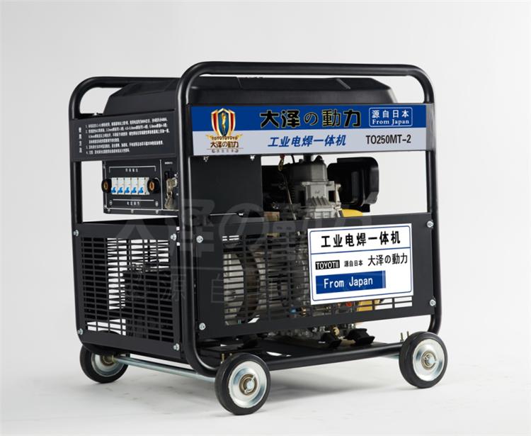 300A静音款式柴油发电电焊机好吗
