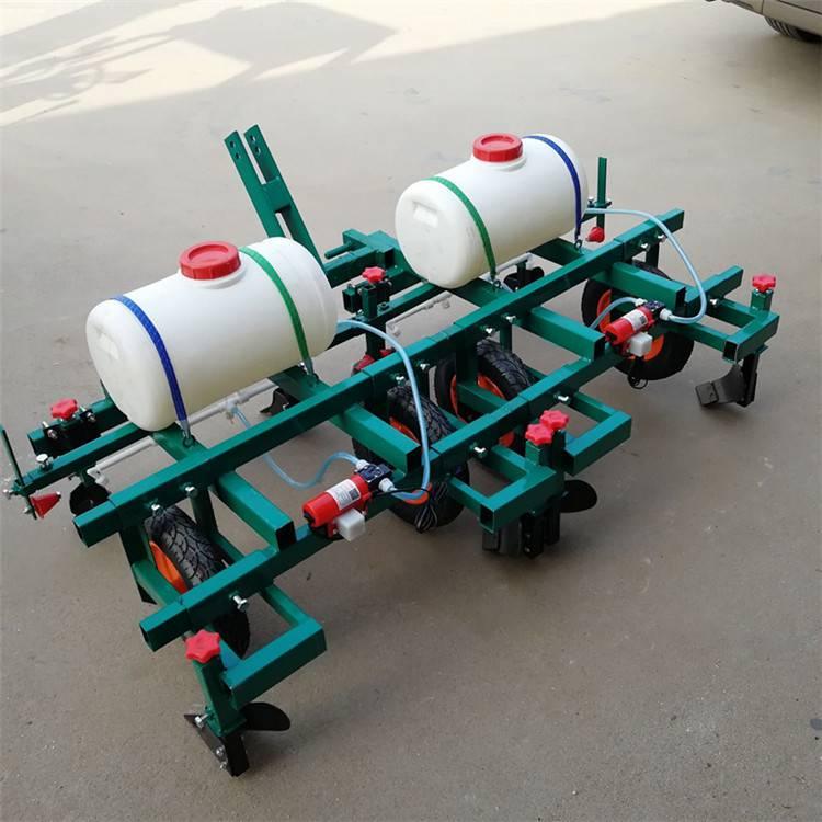 花生种植覆膜机 农用蔬菜盖膜机 圣鲁扣膜机