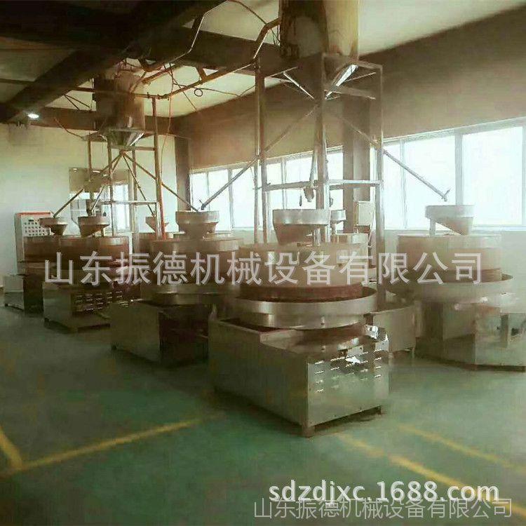 玉米棒暗仓膨化机图片 绿豆红豆膨化机械 振德现货 大米棍机