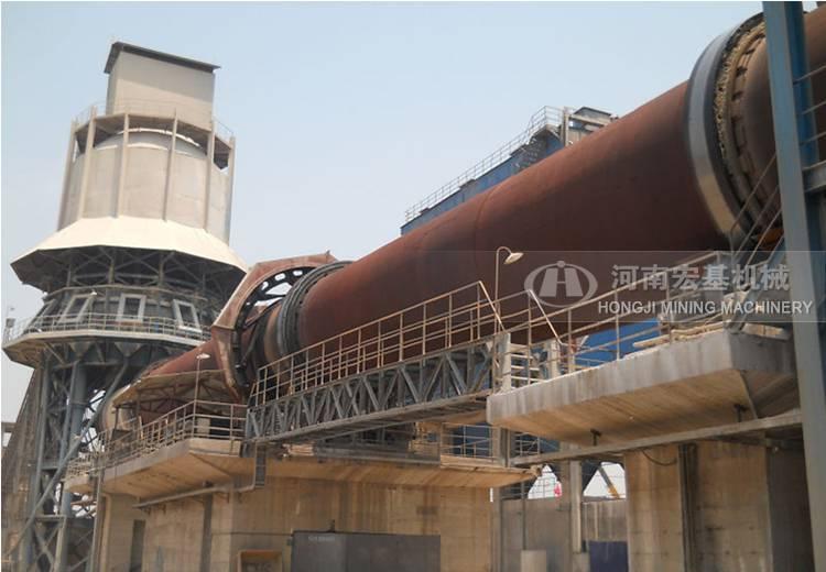 四川氧化锌回转窑厂,600吨锌粉煅烧设备价格