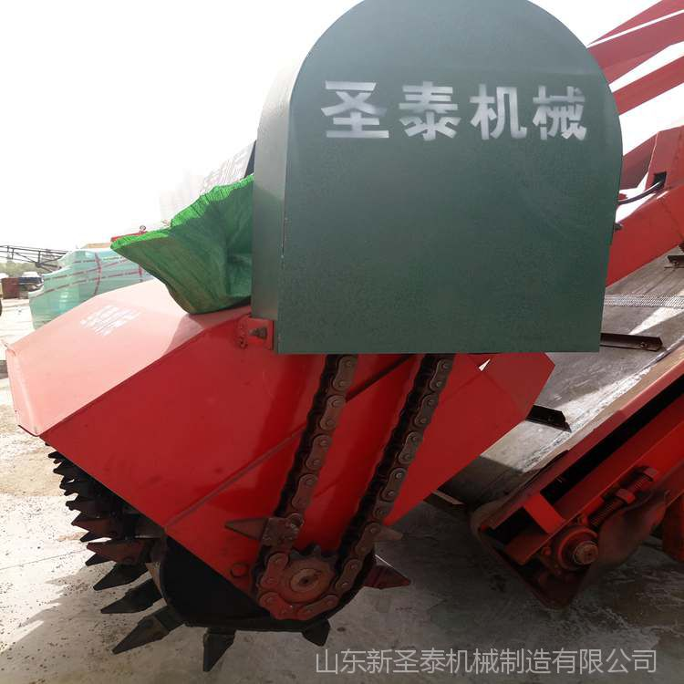 青储池取料机 厂家直销圣泰牌青贮饲料取用机 5米升降高度