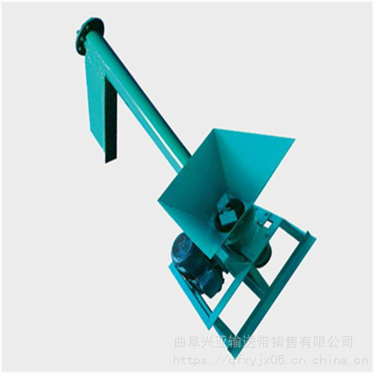 兴亚有轴送料螺旋输送机 管式螺旋输送机
