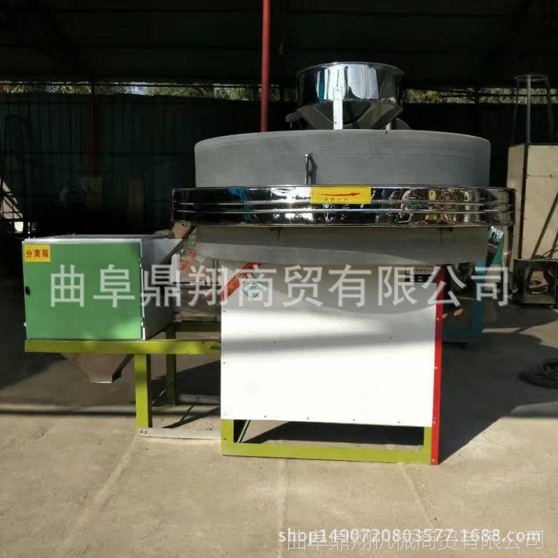 大量供应杂粮石磨机价格  60型天然原石石磨  小麦玉米电动面粉石