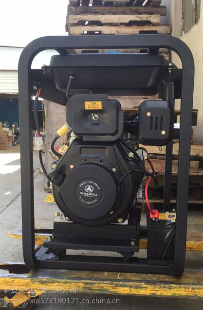 萨登4寸柴油鱼塘抽泥专用水泵
