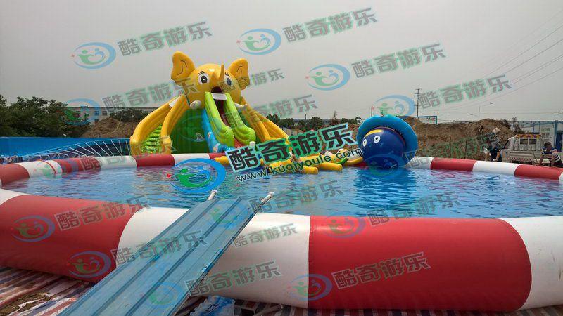水上乐园游乐设备--适合农乐园经营的游泳池多大尺寸