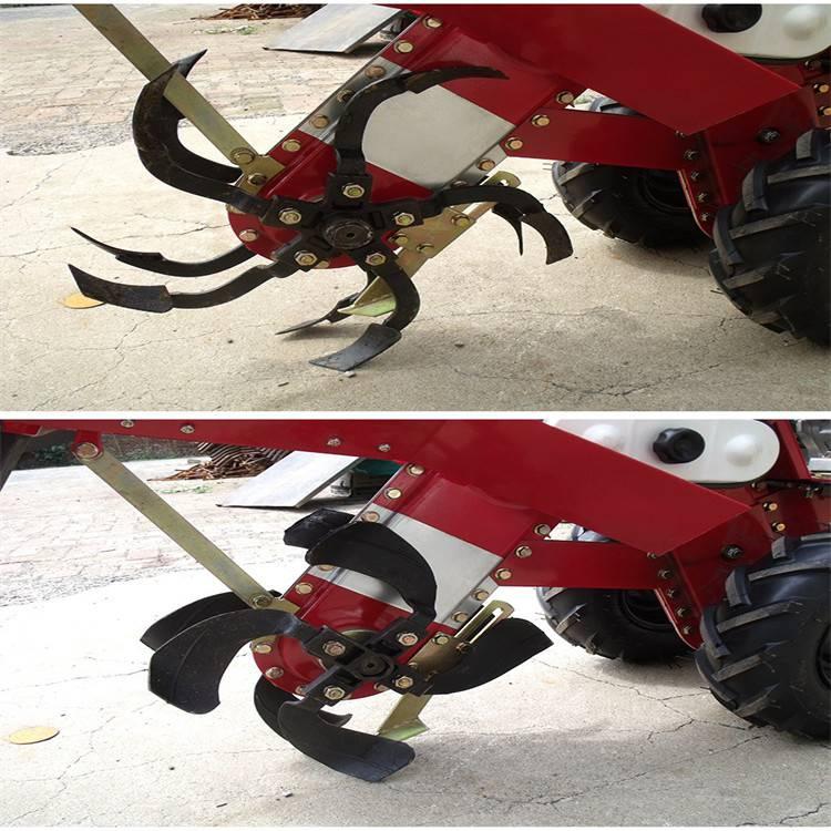 农业机械小型手扶式开沟机 小型起垄压土机一机搞定