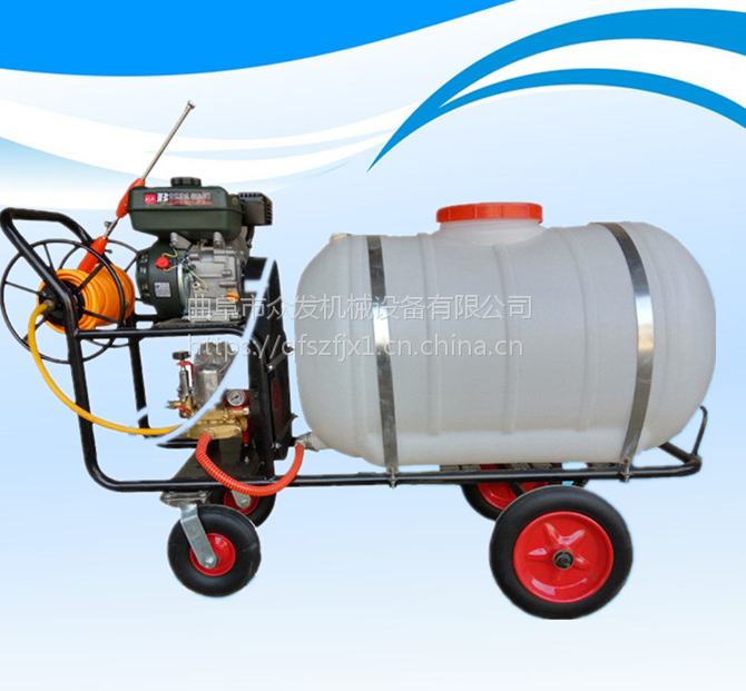 供应四冲程汽油喷雾器 农用植保喷药机 青州大型打药机