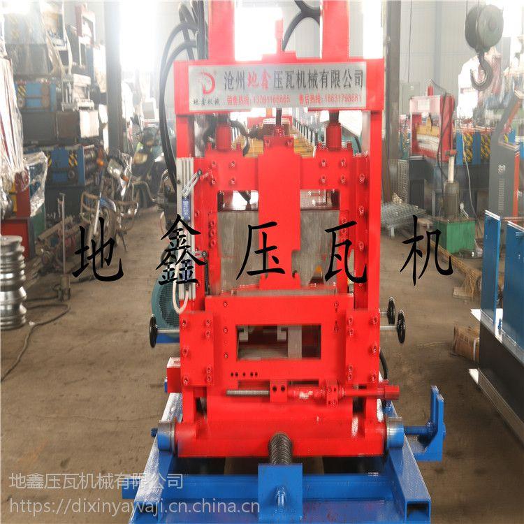 地鑫压瓦机直销彩钢瓦成型设备双层压瓦机