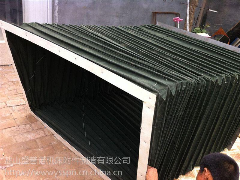 立柱不锈钢风琴式护罩厂家供应