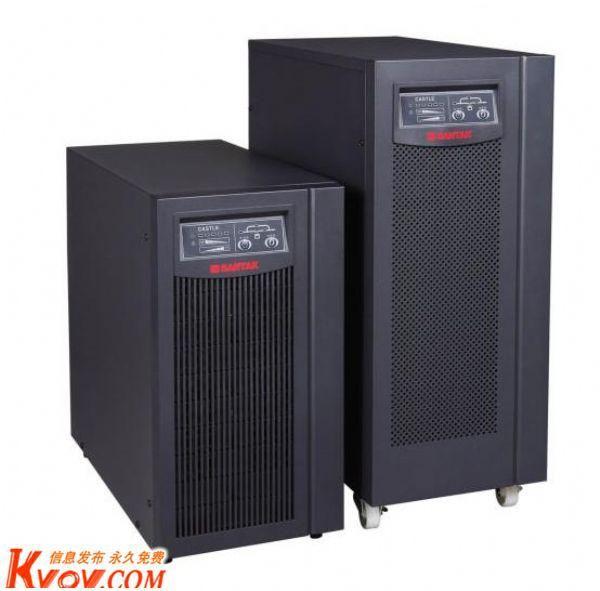 山特UPS不间断电源C10K标准机10KVA/9000W延时10分钟在线稳压