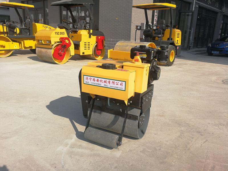 手扶单轮压路机质量好现货批发小型压路机