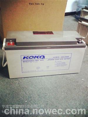 KOKO蓄电池6GFM38KOKO蓄电池12V38AH官网价格|电讯设备专用