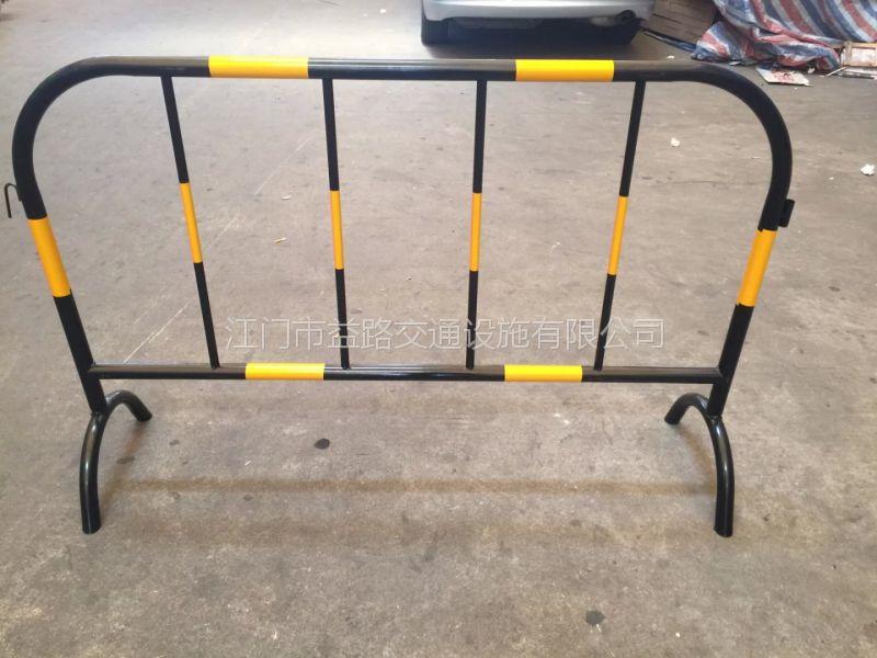 江门铁马厂家 直销定制移动临时道路铁马护栏 道路施工安全隔离护栏 定制