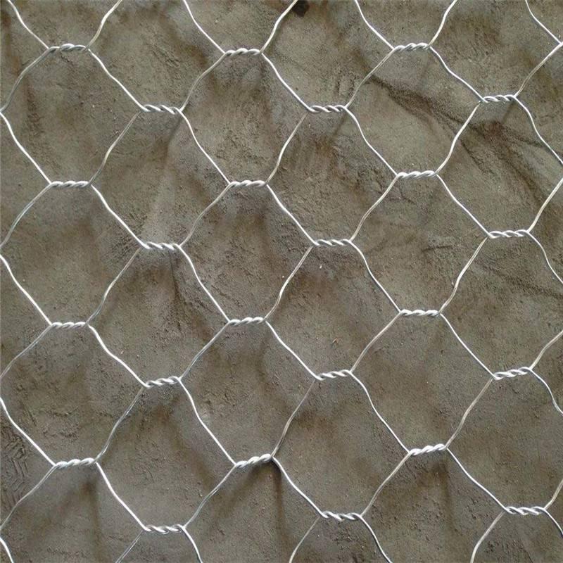 六角网石笼网 石笼网尺寸 铅丝网笼