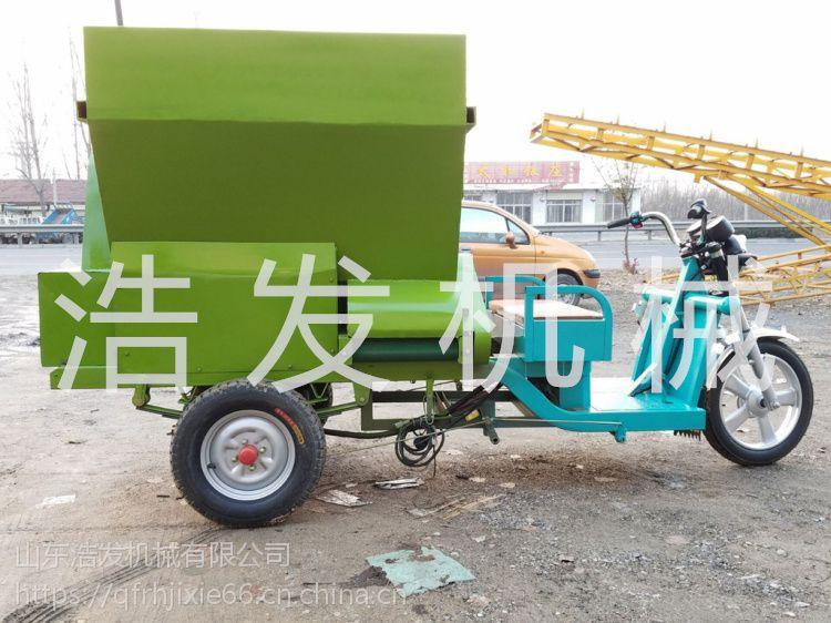 牛场养殖撒料车 液压出料撒料车