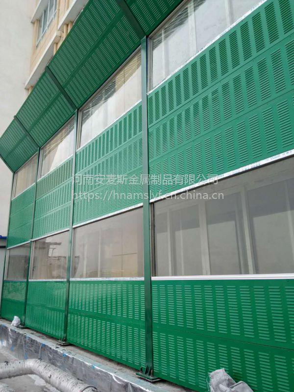 随州市铝合金板高铁隔音墙 镀锌板声屏障亚克力板声屏障加筋亚克力声屏障厂家