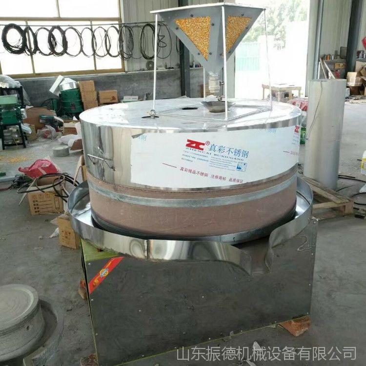 新型 麻汁香油石磨机 电动石磨米浆机 肠粉石磨 五谷杂粮磨浆机