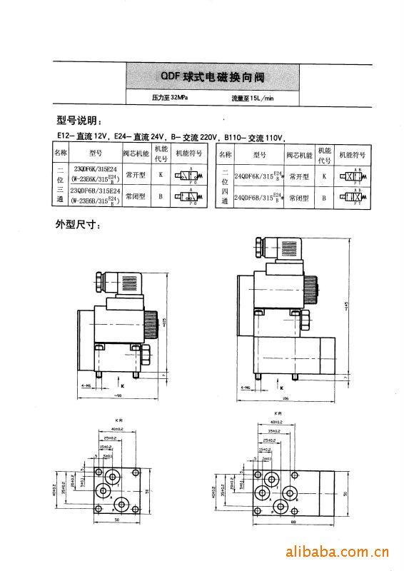 23qdf6k系列电磁球阀图片
