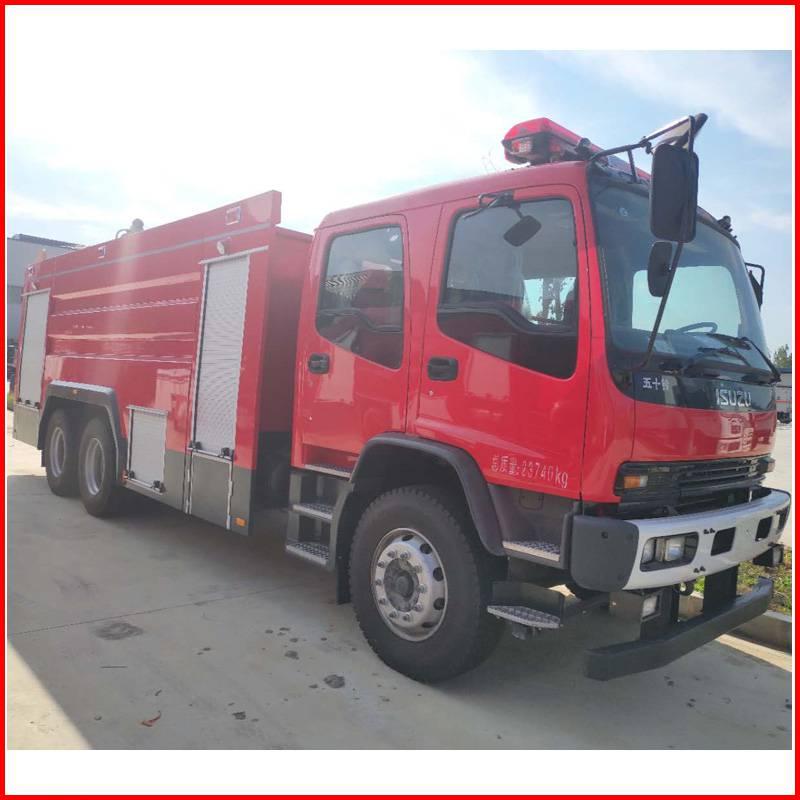 乡镇消防队专用消防车图片配置