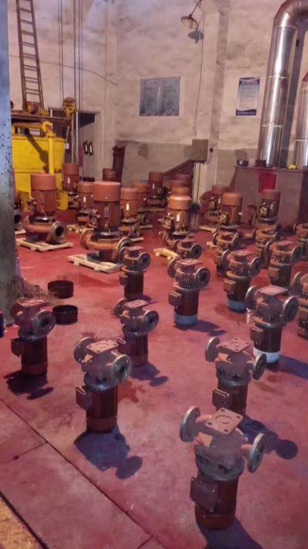 消防1对1认证55KW消火栓泵,泵房消防泵供应 通化丹博代理商
