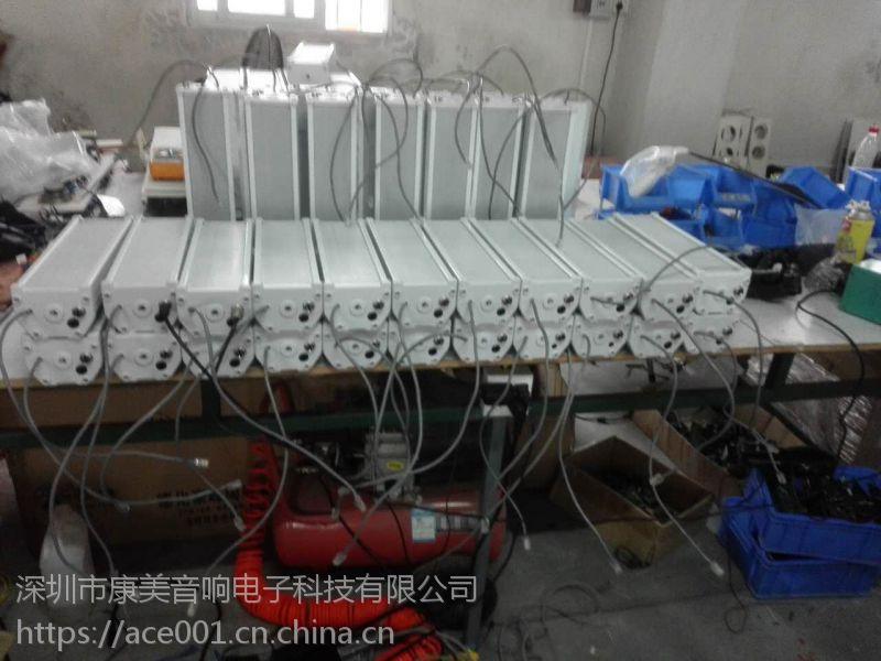 深圳IP网络广播防水音柱厂家