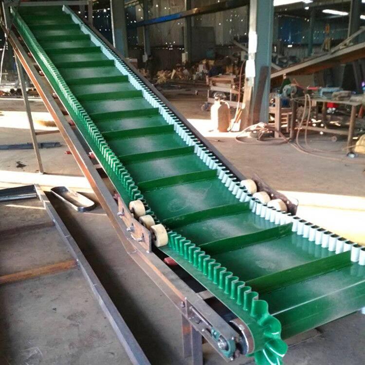 槽型爬坡输送机 可移动升降输送机 装车机