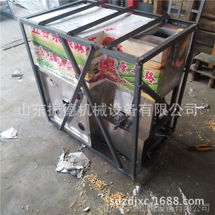 冰糖绿豆麻花膨化机 新款多功能膨化机图片大全 振德 汽油杂粮机