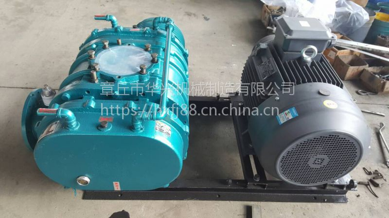 三叶罗茨鼓风机配件|华福兴XSR双油箱罗茨真空泵|厂家直销型号齐全
