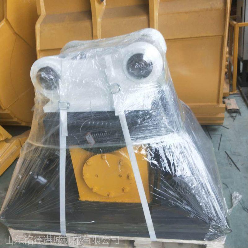 挖机6-50T震动打夯机卡特330 液压夯实器 勾机液压平板夯