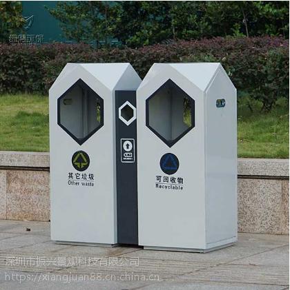 青岛不锈钢果皮箱定制厂家—振兴(有价格优势)