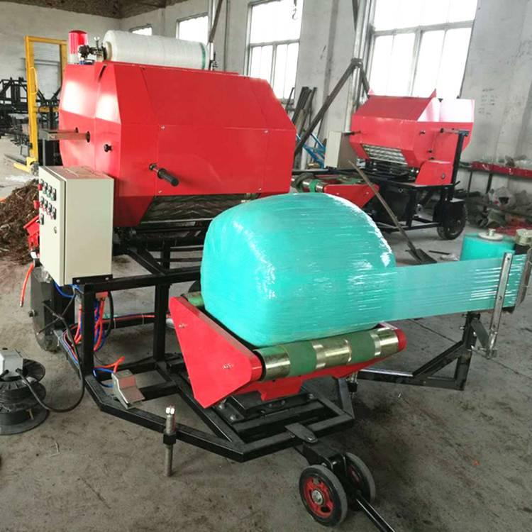 山东邦腾专业生产打捆包膜机 青贮打捆包膜机优质低价