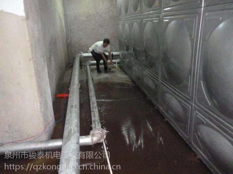 晋江宝龙楼顶水池清洗
