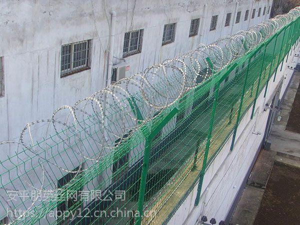 厂家现货直销 机场围栏网 机场防爬网围栏 避难所铁丝围栏网
