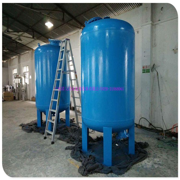 佛山市25吨A3碳钢机械过滤罐 中堂镇 污水前置石英砂过滤器厂家清又清直销