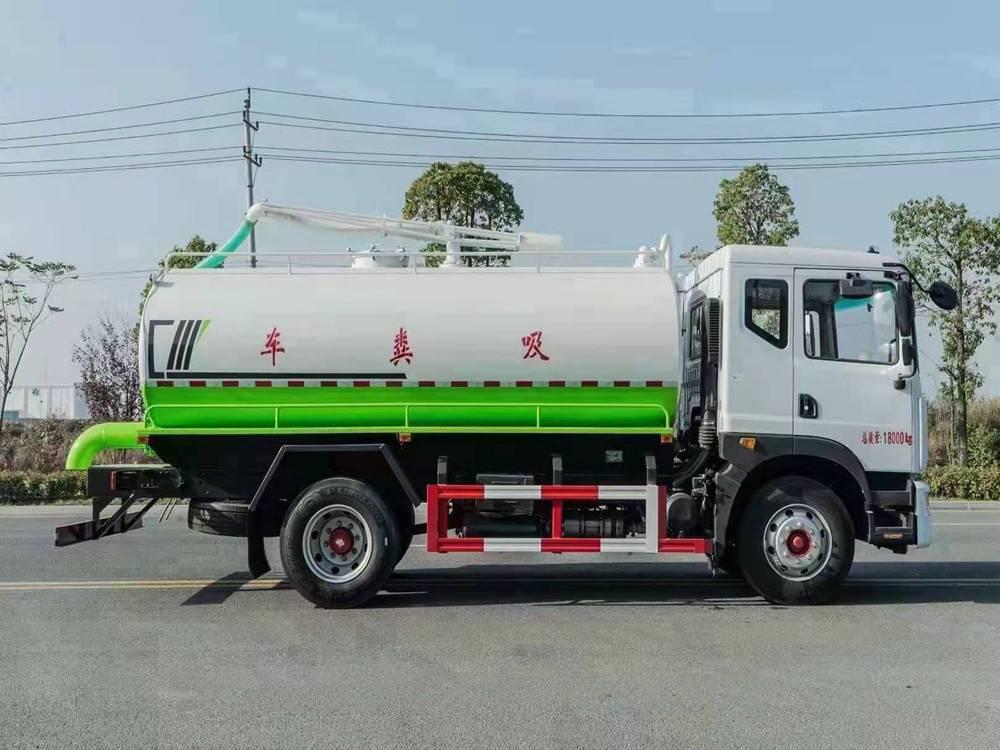 湖北程力5吨下水道吸粪车价格是多少