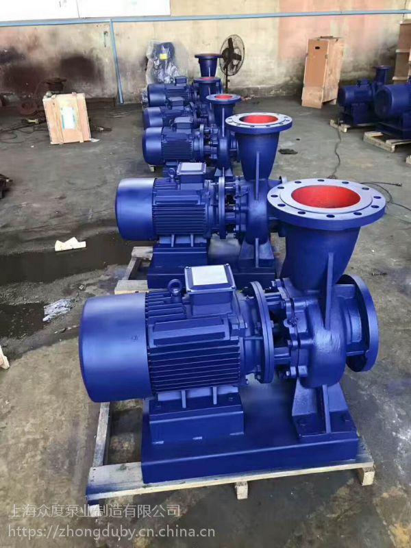 销售管道泵 保定,管道泵, IHG65-100IA 2.2KW 江苏无锡众度泵业