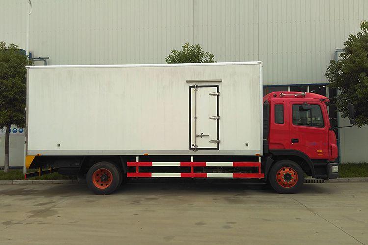 大型冷藏车江淮JAC格尔发6米8冷链运输车蔬菜水果运输新车排量4.7L厂家直销